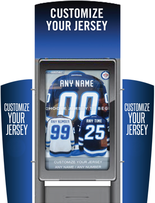 Customize your jersey